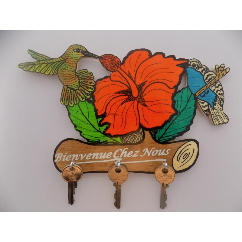 """Colibri Hibiscus pt hibiscus colibri pc""""bienvenue chez nous"""" - aw-mony"""