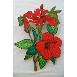 Dble Hibiscus Papillon AR