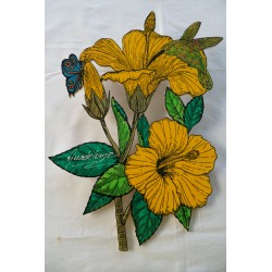 Dble Hibiscus Papillon SR